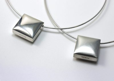 Pillow Cable Necklaces