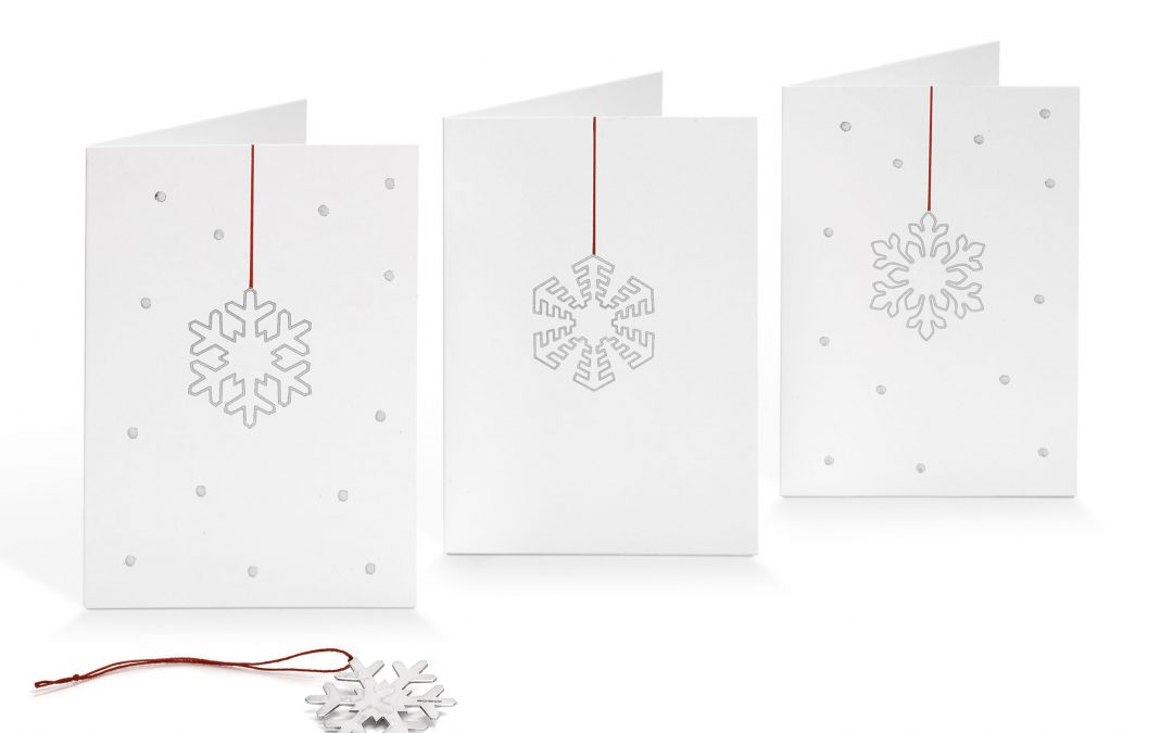 Just Launched: Silver Christmas Card Decorations